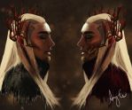 Do not speak to me of Dragon Fire.. by Pondd