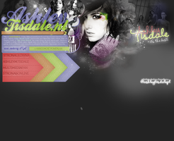 Ashley Tisdale Header 3 by Camellote