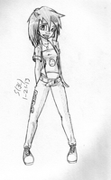another esme sketch (blame it on the boredom) by G4MM43T4