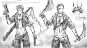 Post-Apocalyptic AU - German Brothers - Rework by patty110692