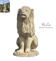 Lion statue by TinaLouiseUk