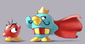 The Penguin King by ASagelyKitchenSponge