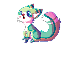 Pixel Kuitsumi by Magicpawed