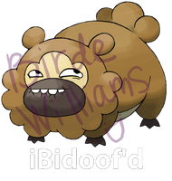 iBidoof'd shirt design by birdewilliams