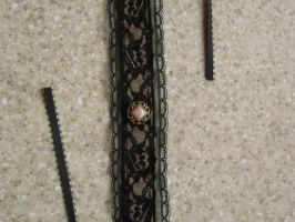 Black Lace - Pink Filigree by mad-hatter-inc
