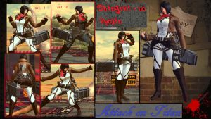 Cammy Shingeki no Kyojin Mikasa download by MaesterLee