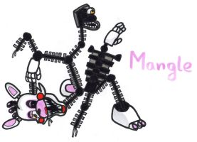 Mangle by YouCanDrawIt