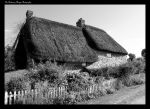 THE COTTAGE BW by Chattering-Magpie