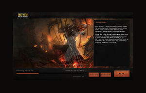 Mayhem WoW Launcher by WickedDesiqns