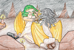 Mythical Creatures Challenge- Medusa by MiniDragonfly