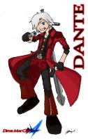 Devil May Cry 4 Dante Chibi by JC-790514