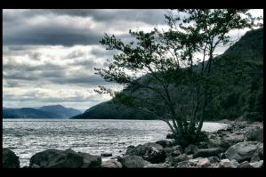 loch ness lake by AnnKT