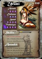 SamGen card - 'Urumi Sanza' by dinmoney