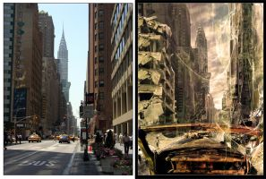 NYC street_before and after by VertigoEBC