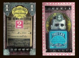 Mixed Media Assemblage 268b by GregPDX