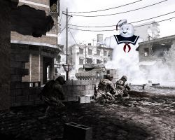 Call of Duty 4 vs Stay Puff by Rockabilly79