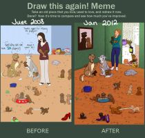 Draw it Again Meme by Jeselenia