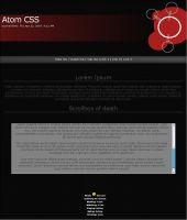 Atom CSS by Cat-in-the-Stock