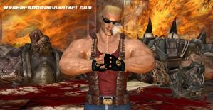 The REAL Duke Nukem by Wesker500