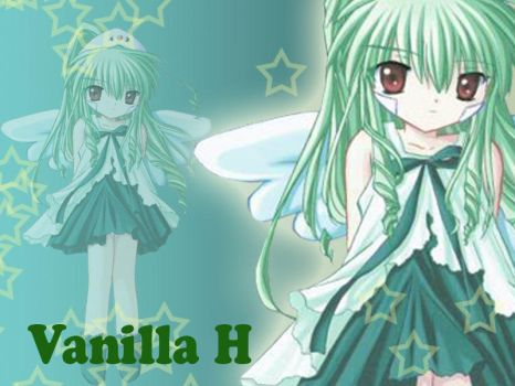 Vanilla H Wallpaper with tut by Ivy16