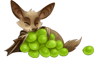 fruit bat by gabfury