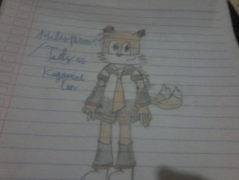 Tails as Kagamine Len by AisyahShiepumpers28