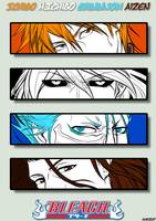BLEACH: Orange.White.Blue.Brown -ID- by blackstorm