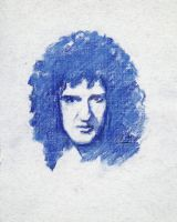 Brian May. Sketch by AnnaMorozova