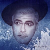 George Clooney with texture by ikebana-faberje