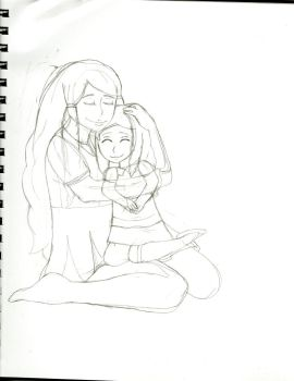 Mother and Daughter (WIP) by PokeEmblemDefault