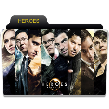 heroes folder icon by enad911
