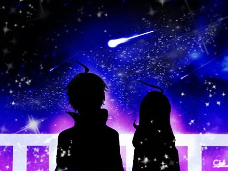 Looking At The Starry Sky by Koyuki01