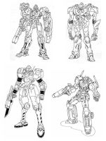 Mecha Collection 1 by Minikrom