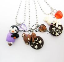 animalotti necklace alchemian by AlchemianShop