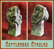 Cuttlehead Cthulhu by zombiequadrille