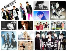 NU'est collage by AndyAndreutZZa