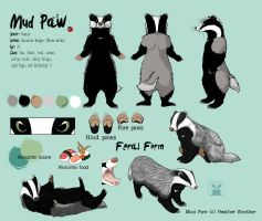 Mud Paw ref sheet 2010 by mudpaw