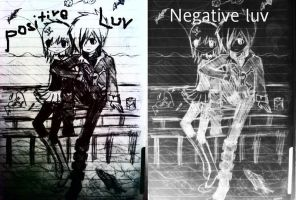 Positive_Negative Lavi Luv by emokiss-ringingbell