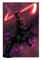 Darth Maul - colors by ZethKeeper