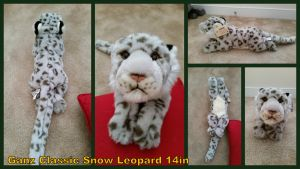 Ganz Classic Snow leopard 14in by Vesperwolfy87