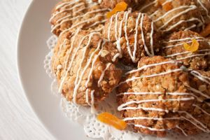 Apricot Anzac Biscuits by MaverickMae