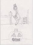 Pumpkin carving is serious buisness by LostNeedHelp