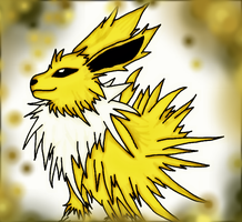 Jolteon Colored by Sayue