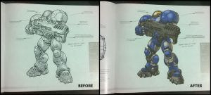 Starcraft II Legacy of the Void Field Manual color by yu-yi