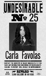 Carla Favolas, undesirable 25 by N0xentra