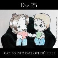 30 day OTP Challenge Feat. Winchesters: Day 25 by KamiDiox