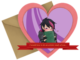 [DMPKM] Asche's Attempt at a Valentine by MistressAmerah