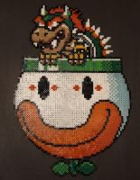 Bowser Bead Sprite by RedHerring1up