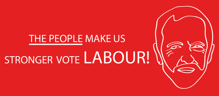 The people make us stronger vote Labour 2017 by CreativeDyslexic