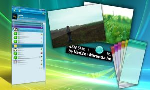 MSN skin for Miranda Im by vad3x